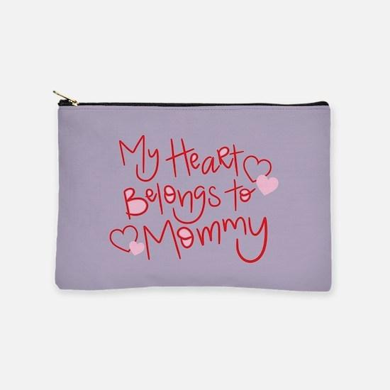 My Heart Belongs To Mommy Makeup Bag