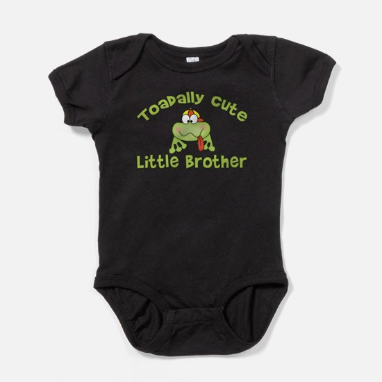 Toadally Cute Little Brother Infant Bodysuit Body