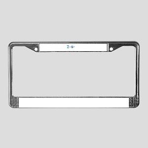 Z License Plate Frame
