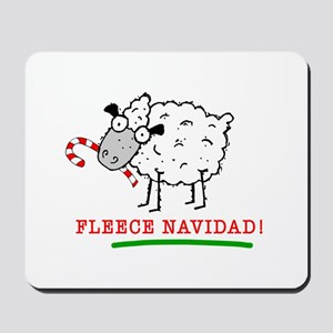 Fleece Navidad! Mousepad