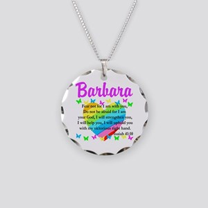JOYOUS ISAIAH 41:10 Necklace Circle Charm