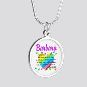 JOYOUS ISAIAH 41:10 Silver Round Necklace
