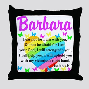 JOYOUS ISAIAH 41:10 Throw Pillow