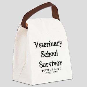 Veterinary School Survivor Canvas Lunch Bag