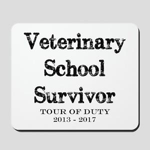 Veterinary School Survivor Mousepad