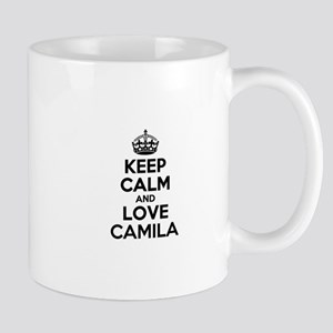 Keep Calm and Love CAMILA Mugs