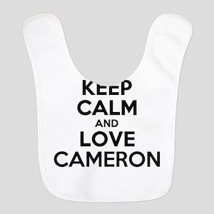 Keep Calm and Love CAMERON Bib