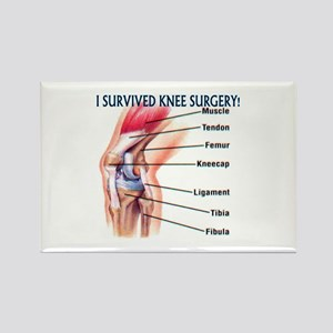 Knee Surgery Gift 6 Rectangle Magnet