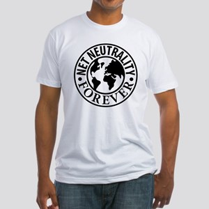 Net Neutrality Forever Fitted T-Shirt