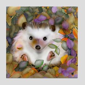 """""""Poco in the Garden"""" Tile Coaster"""