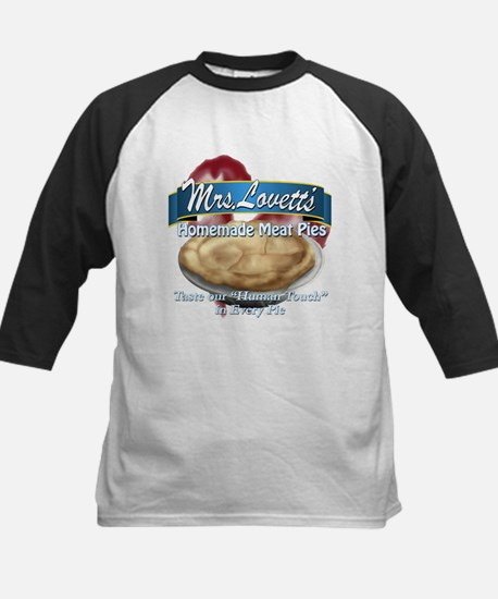 meat pie Kids Baseball Jersey