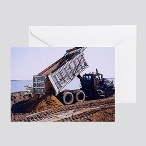 Dump Truck #1 - Greeting Cards (Pk of 10)