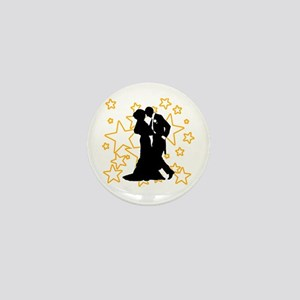 Ballroom Dance Couple Mini Button