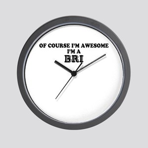 Of course I'm Awesome, Im BRI Wall Clock