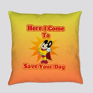 Here I Come To Save Your Day Might Everyday Pillow