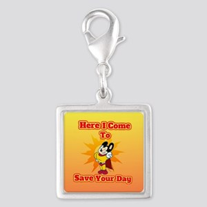 Here I Come To Save Your Day Mighty Mouse Charms