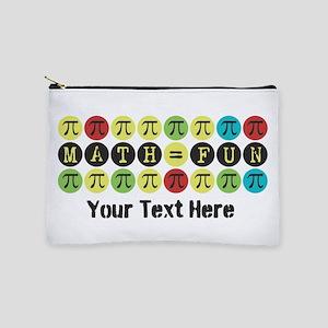 Customize Math = Fun Makeup Bag