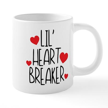 Lil' Heart Breaker 20 oz Ceramic Mega Mug