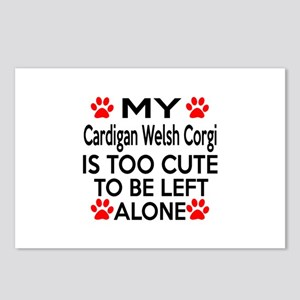 Cardigan Welsh Corgi Is T Postcards (Package of 8)