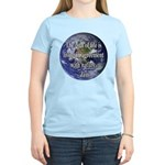 Living With Nature Quote Women's Light T-Shirt
