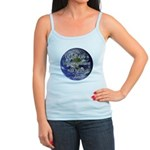 Living With Nature Quote Jr. Spaghetti Tank