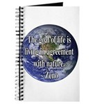 Living With Nature Quote Journal