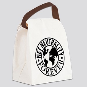 Net Neutrality Forever Canvas Lunch Bag