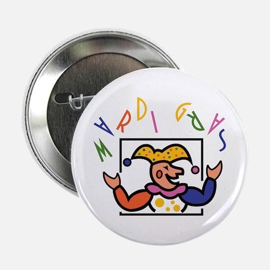 Mardi Gras Button