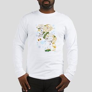 Christmas Unicorn Long Sleeve T-Shirt