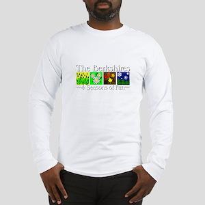 The Berkshires 4 seasons of fun Long Sleeve T-Shir