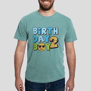 Emoji Birthday Boy Two Mens Comfort Colors Shirt
