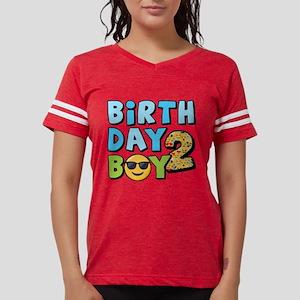 Emoji Birthday Boy Two Womens Football Shirt