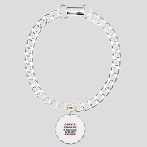 Toy Manchester Terrier Charm Bracelet, One Charm