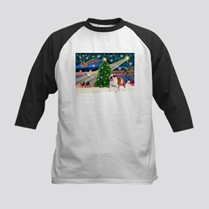 Xmas Magic & EBD Kids Baseball Jersey