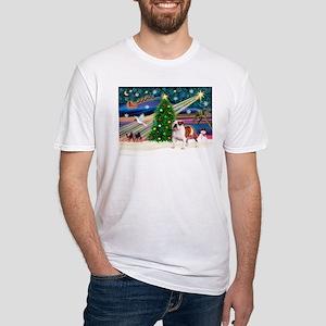 Xmas Magic & EBD Fitted T-Shirt