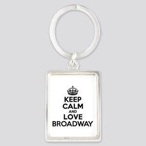 Keep Calm and Love BROADWAY Keychains