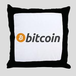 btc3 Throw Pillow