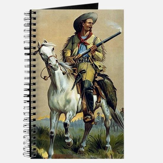 Buffalo Bill Vintage Painting Journal