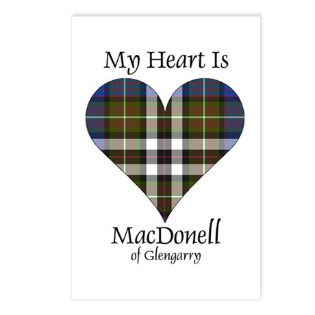 Heart-MacDonellGlengarry Postcards (Package of 8)