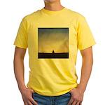 66.buddh..? Yellow T-Shirt