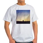 66.buddh..? Ash Grey T-Shirt