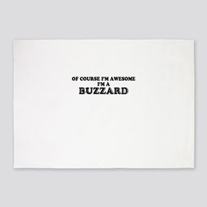 Of course I'm Awesome, Im BUZZARD 5'x7'Area Rug