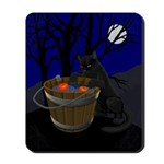 Halloween Mousepad Black Cat Mousepad & Gifts