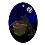 Halloween Oval Ornament