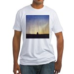 66.buddh..? Fitted T-Shirt