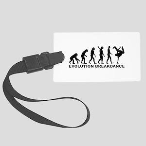 Evolution Breakdance Large Luggage Tag