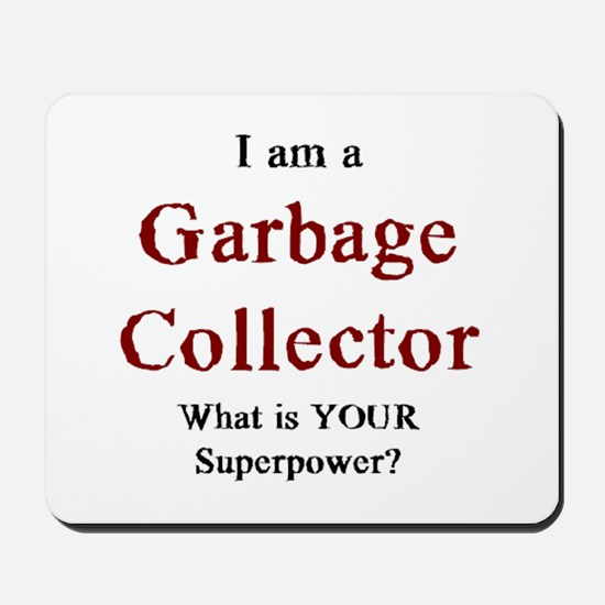 garbage collector Mousepad