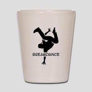 Breakdance Shot Glass