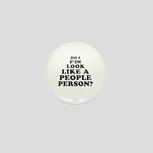 Rude People Person Mini Button