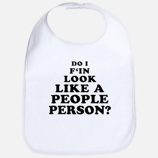 Rude People Person Bib